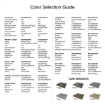 Color Selection Guide