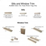 Sills and Window Trim