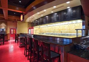 Custom Grahm Glazed Brick - Pei Wei Restaurant