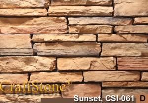 Sunset Stacked Ledgestone