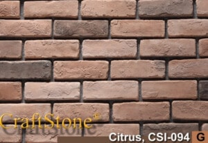 Citrus Old World Brick