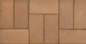 Earthtone Beveled Edge Clay Brick Paver
